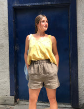 Eve Gravel Cassis Top / Citron