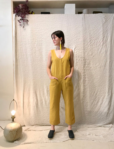 Eve Gravel Saint-Germain Jumpsuit / Tournesol