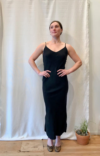 Ozma Long Slipdress / Black