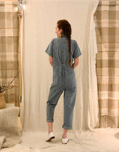 Barrie Jumpsuit / Indigo Stripe