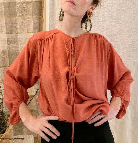 No.6 Malta Top / Terracotta