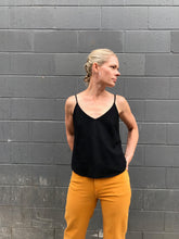 Ozma of California Camisole / Silk Black