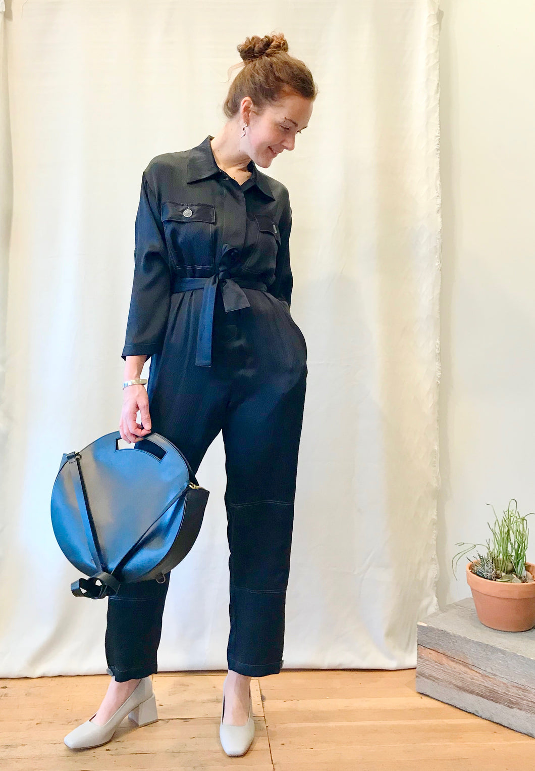 Friday Coverall / Black