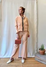 Paloma Wool Jawara Velvet Jacket / Light Pink