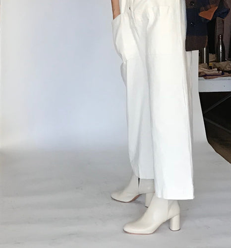Rachel Comey Lin in Bone Kidskin Leather