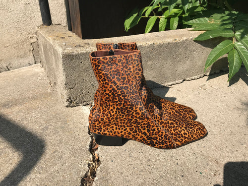 Rachel comey Cove in Leopard Calf Hair Leather