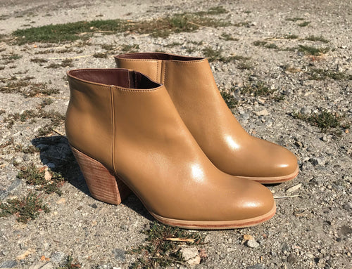 Rachel Comey Mars Ankle Boots in Caramel