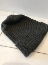 Mature Hat Pleats Knit Cap