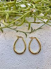 Machete Oval Hoops / Gold