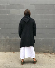 Lauren Manoogian Capote Coat /  Black Melange