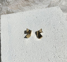 Fay Andrada Siipi SM Earrings Brass / Brass