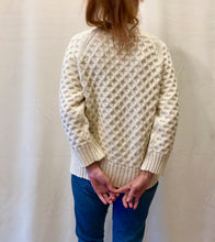 Micaela Greg Honeycomb Cable Sweater
