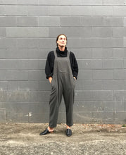 Black Crane Meca Jumper / Ash and Midnight