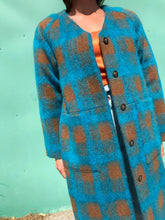 No.6 Taryn Liner Jacket / Turquoise Plaid