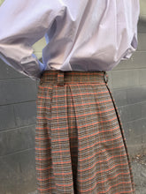 Girls of Dust Service Skirt / Pow Check, Multi