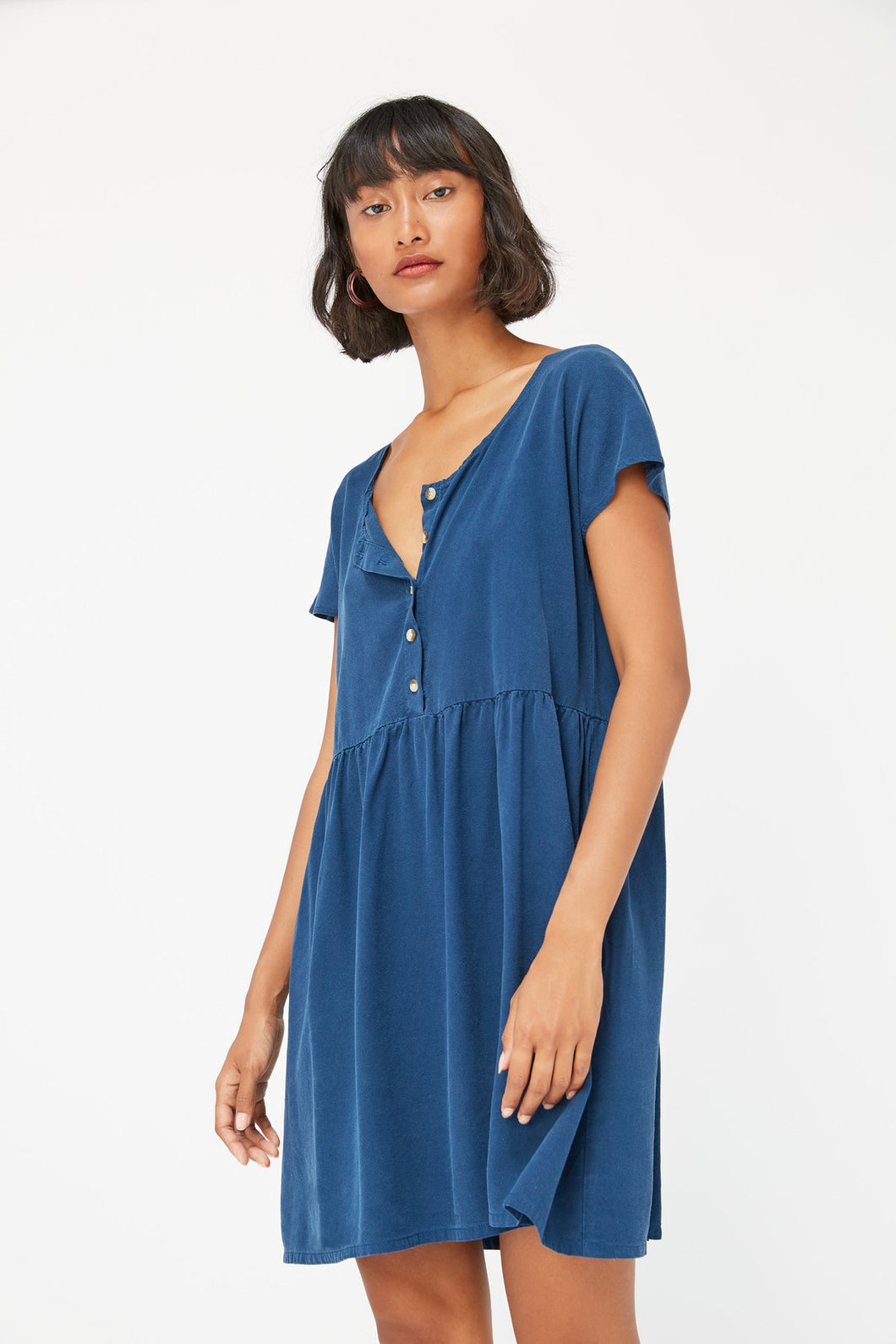 Lacausa Buena Mini Dress / Sapphire