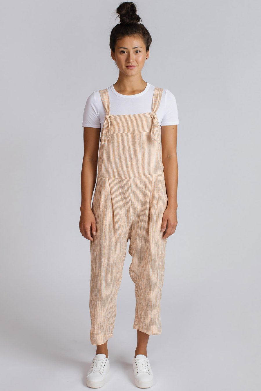 Pillar Calais Overall / Orange Stripe