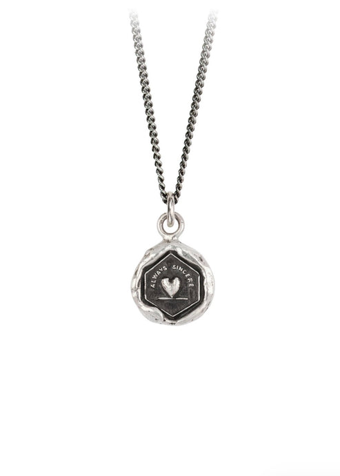 Pyrrha Always Sincere Talisman / Silver