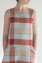 Kowtow Theatre Dress in Check