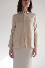 Wrk-Shp Atelier Top in Beige, Brown and Red