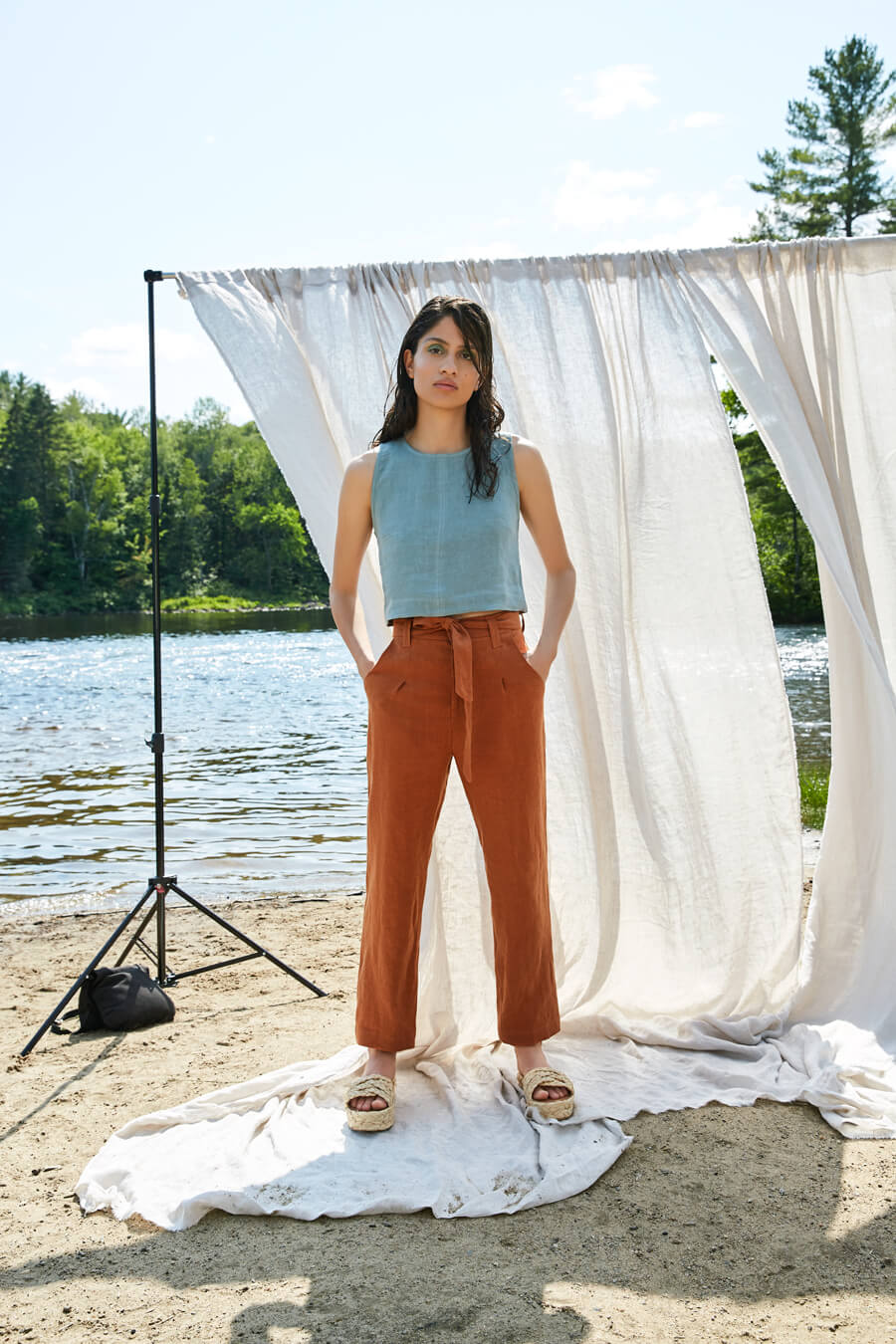Eve Gravel Oaks Pant / Sierra