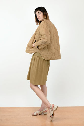 Micaela Greg Dune Quilted Jacket / Bronze