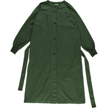 Girls of Dust Military Robe / Cotton Drill, Forest Green