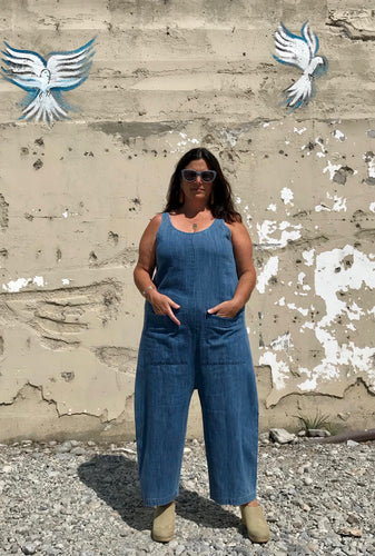 Ilana Kohn Gary Jumpsuit / Faded Denim
