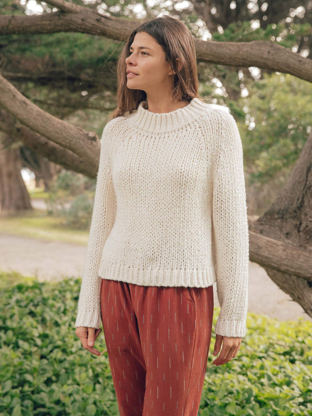 Mollusk Teddy Sweater / Natural