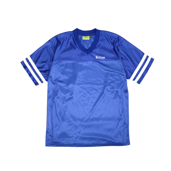 English Football Top - Blue