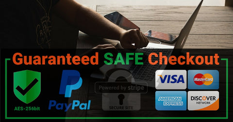 Shoplife safe & Secure checkout