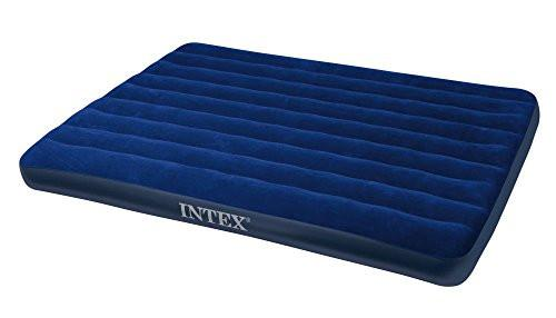 flatable queen airbed suitable for indoor or outdoor use.Plush, waterproof,