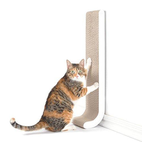 Cat wall scratcher
