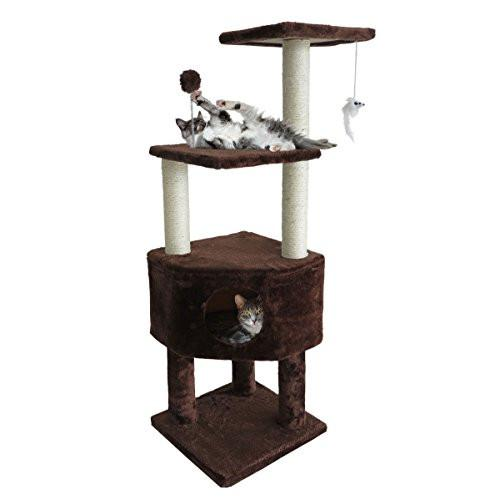 Tiger Tough Scratching Posts and Cat Tree House Condos for Cats and Kittens