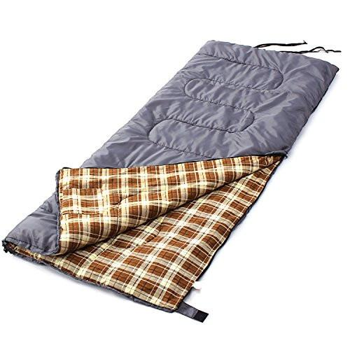 Camp Solutions XL +23F Flannel Lined Warm-Weather Sleeping Bag
