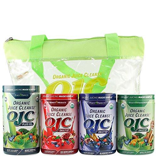 Organic Juice Cleanse (OJC) Variety Combo Pack,4 count.