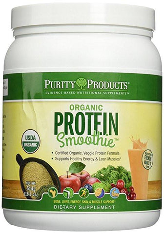 The Organic Protein Smoothie - French Vanilla (18.1oz) from Purity Products