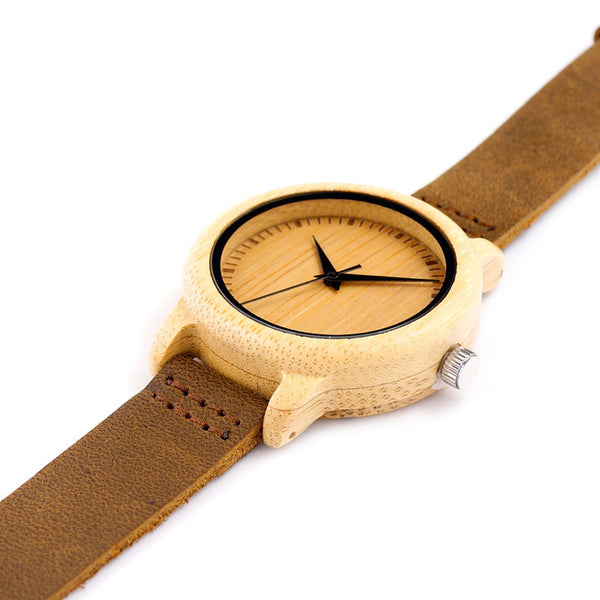 Wooden Watch wood framed watch