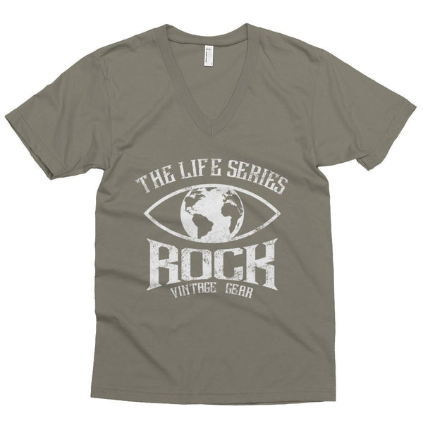 Men's short sleeve v-neck