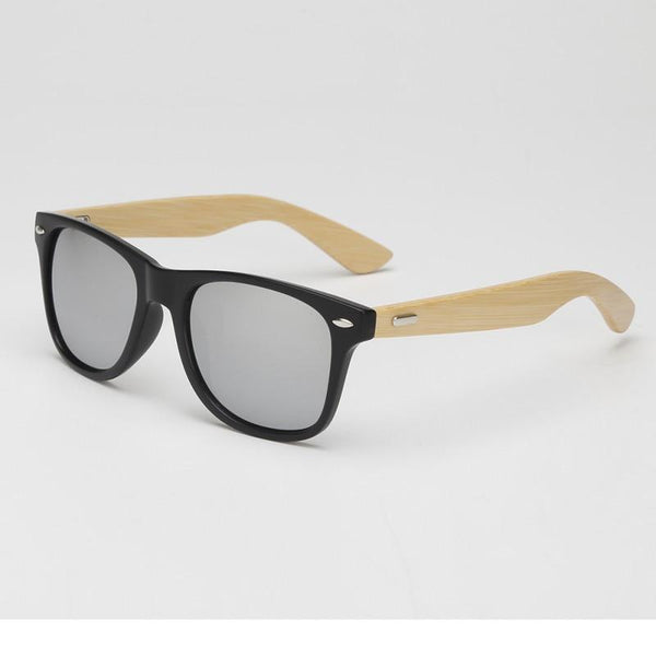 Mens Bamboo Sunglasses