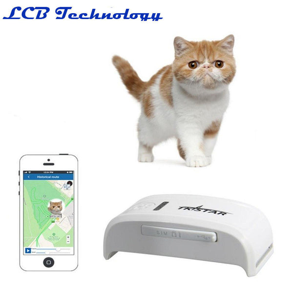 LK909 Small Pet Dog Cat GPS Tracker Locator Tracking Platform. FREE SHIPPING