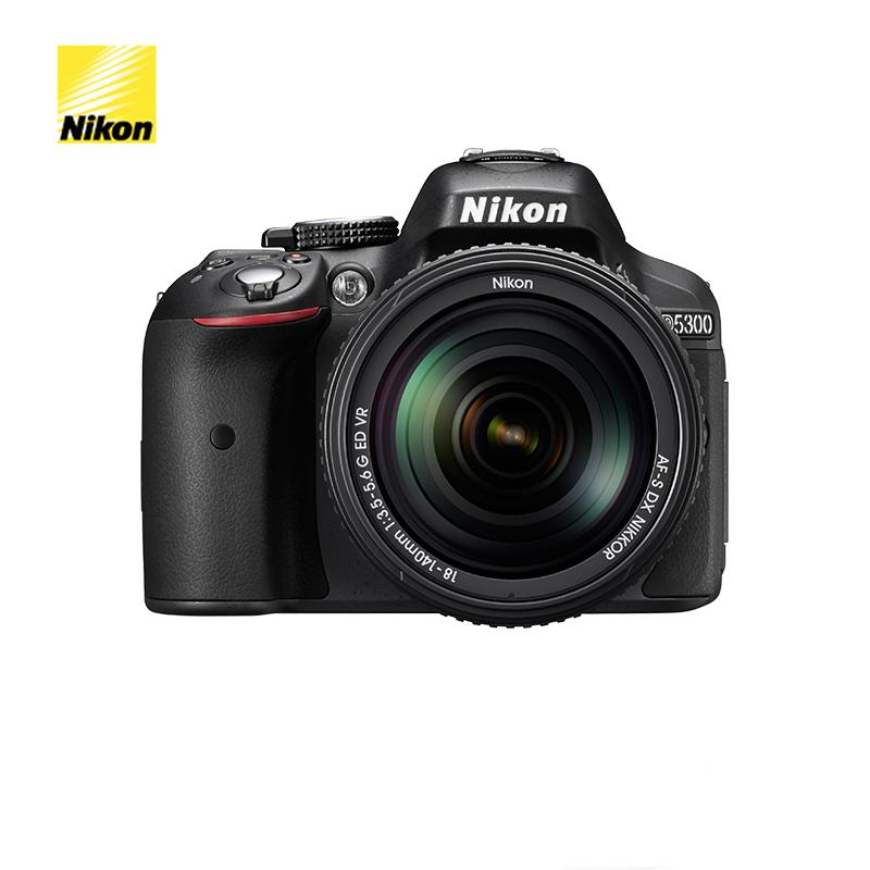 Nikon D5300 DSLR Camera Body Only & Nikon AF-P 18-55mm Lens & Nikon AF-P 18-140mm Lens Brand New