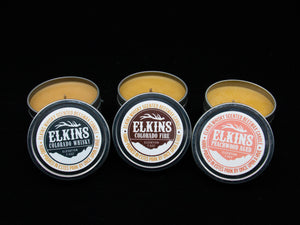 Elkins Whisky Candle (Tin)