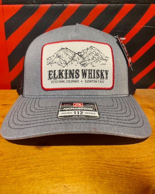 Classic Richardson Trucker Hat - Mountain Patch