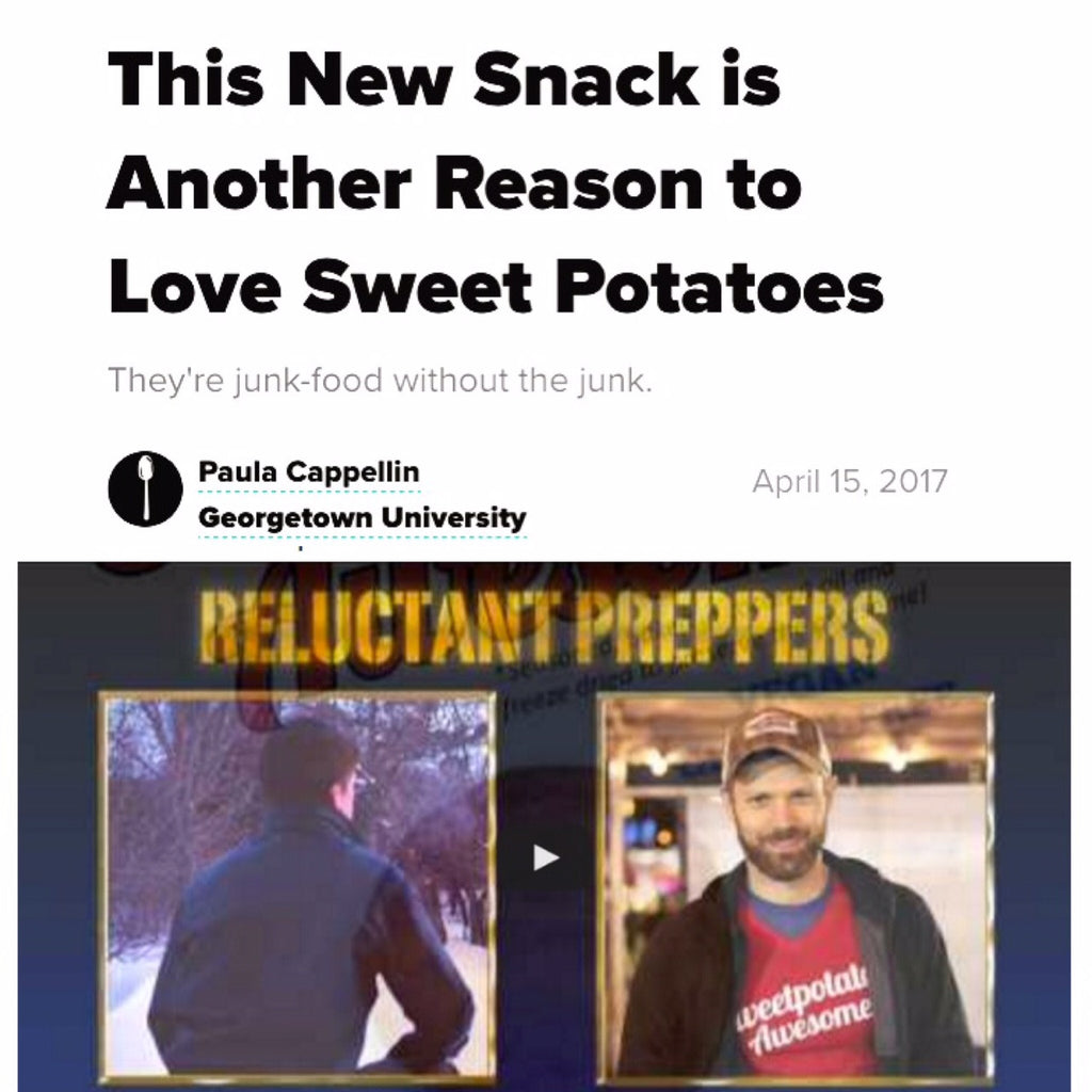 "Article on ""Spoon University"" and new podcast with ""Reluctant Preppers"""