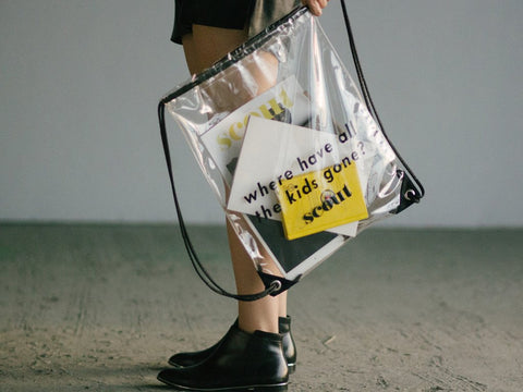 Scout Transparent Drawstring Bag