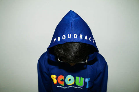 Scout x Proudrace Hoodie - Blue