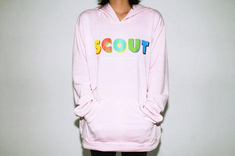 Scout x Proudrace Hoodie - Pink