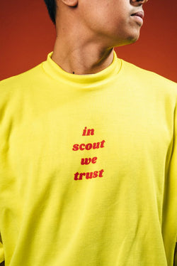 """In Scout We Trust"" Sweater"