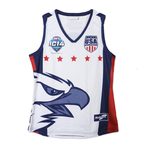 USA Revolution Jersey Design
